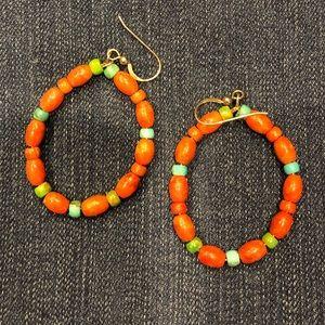 Jay King Coral earrings